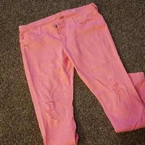 Hot pink Arizona Jeans